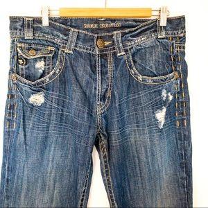 Mek Denim Men Size 34X34 Jeans Jakarta Boot Cut